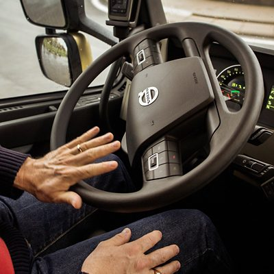 Direction dynamique du Volvo FM
