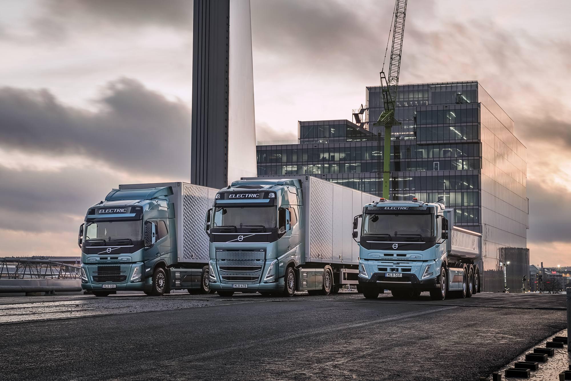 Volvo Trucks está listo para utilizar la energía eléctrica en una parte importante del transporte de mercancías