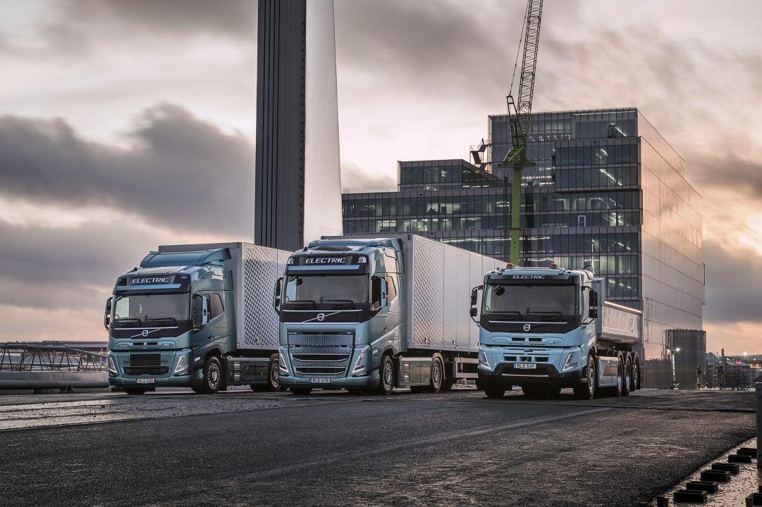 Volvo Trucks pronta para eletrificar grande parte do transporte de mercadorias