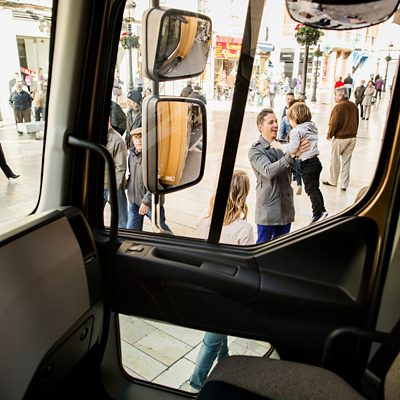 Volvo trucks about us safety all round visability