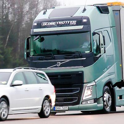 Електронна спирачна система от Volvo Trucks