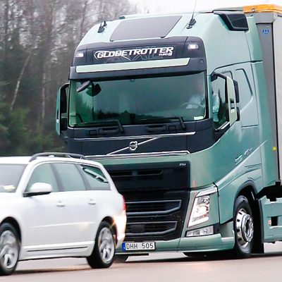 Тормозная система Volvo Trucks с электронным управлением
