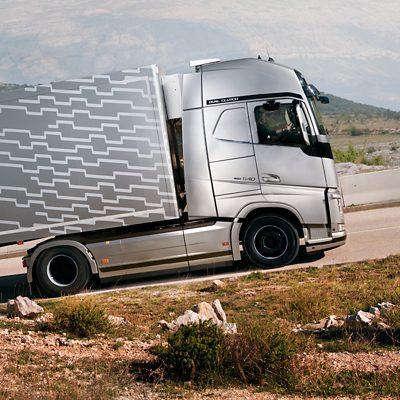 Características tecnológicas inteligentes da Volvo Trucks