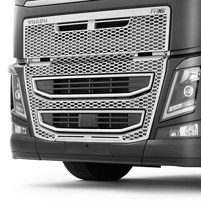 Sistema integrado de protección contra empotramiento frontal de Volvo Trucks