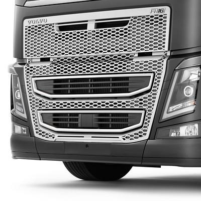 Proteção anti-intrusão dianteira da Volvo Caminhões