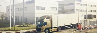 Volvo trucks servicing center