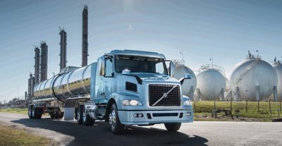 The Volvo VNM at work