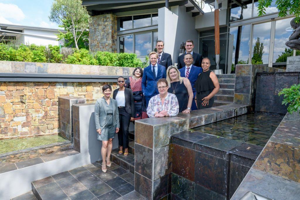 Volvo Trucks South Africa's top management team.
