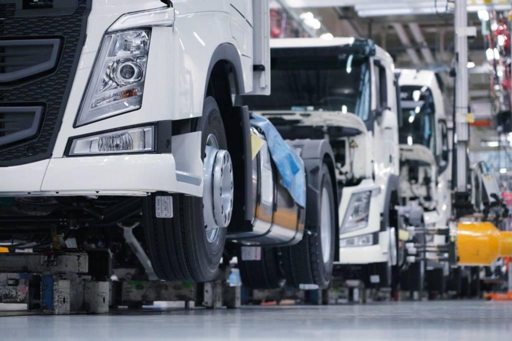 La production dans les usines Volvo Trucks redémarre