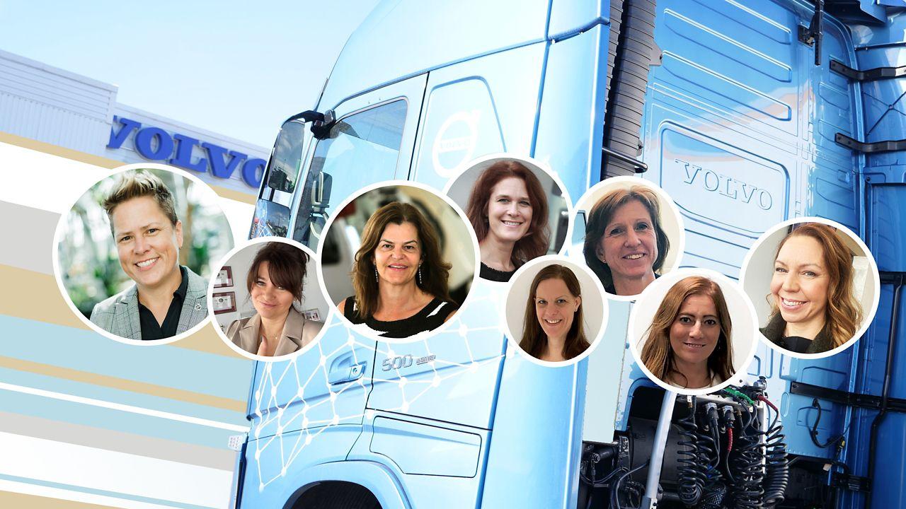 Volvo Trucks celebrates international womens day