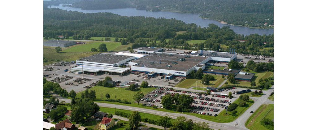 Volvo Bus plant in Boras